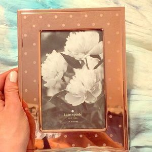 Kate Spade Lenox 4- 6 inch picture frame